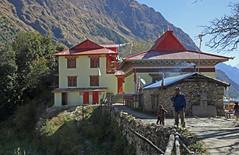 125. Lihi Gompa, Lihi, Gorkha District, Manaslu Trek, Nepal (Jay Ramji's Travels) Tags: nepal lihi gorkhadistrict manaslutrek himalayas gompa buddhism placeofworship building religious