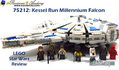 Inspire a new generation of Star Wars fans (WhiteFang (Eurobricks)) Tags: lego star wars han solo story movie blockbuster spinoff gang outer rims tobias enfy nest high speed chase millennium falcon mf lando bet parsec crew ship corellian