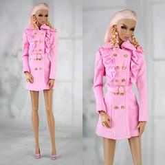 All pink <3 (Regina&Galiana) Tags: fashionroyalty fashiondoll doll barbie dress oak ooak edenpublicadoration luxelifeconvention nuface