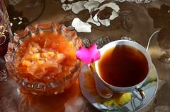 Я приглашаю Вас на чай! (Angelok-Happy) Tags: приглашениеначай варенье зима чашкагорячегочая acupofhottea applejam aninvitationtotea