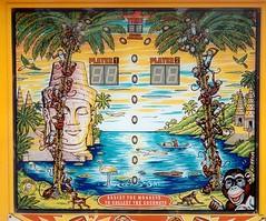 Monkey Business (micky the pixel) Tags: spiel game coconuts monkey pennyarcade backglass lanzarote spanien spain
