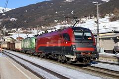 ÖBB 1216 020-8 RailJet und 1016 023-4 Schrottzug, Matrei am Brenner (TaurusES64U4) Tags: öbb 1216 1016 taurus