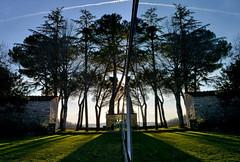 Specchio (antonella galardi) Tags: toscana siena chianti gaiole chiesa 2019 castello ama arte contemporanea danielburen vigne specchi