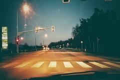 Crossing of the supermoon (camerito) Tags: camerito crossing kreuzung red light rot ampel flickr