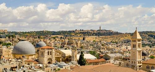 Jerusalem Panorama from Citadel