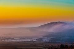 Magic Brittany (yann2649) Tags: finistere montdarrée brittany landscape fogg foggy orange bretagne celtique celtic