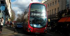 London Central WVL357 on route 129 Greenwich 02/03/19. (Ledlon89) Tags: bus buses london transport tfl londoncentral goaheadlondon londonbus londonbuses transportforlondon londontransport