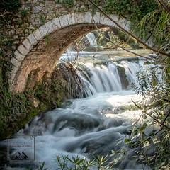 Livadia Bridge (fentonphotography) Tags: livadia greece bridge arch rushingwater stream longexposurephotography trees