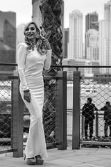 Andrea NB-30 (Willy_G91) Tags: vert andrea model fashion portrait girl woman pretty beautiful cute gorgeous sexy stunning outside outdoors nikon d610 photoshoot colour duba black white noir blanc noirblanc blackwhite bnw