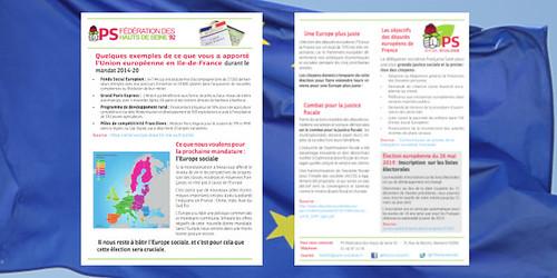 Boîtage tract fédéral EU - 13 mars 2019