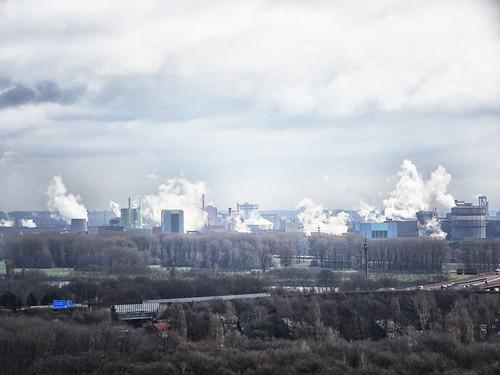 Duisburg Industry