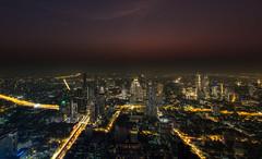 Bang Rak - Bangkok (Phil Bandow) Tags: nightshots maha nahkon bangkok thailand 2019 skyscraper bang rak district