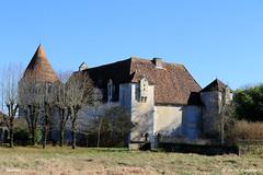 24 St-Front-la-Rivière - Saulnier (Herve_R 03) Tags: architecture castle château dordogne france aquitaine