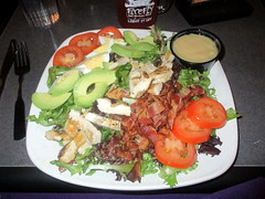 Cobb Salad without Dressing at Ithaca Ale House (Autistic Reality) Tags: ithacaalehouse ithaca alehouse ale house food tompkinscounty upstatenewyork stateofnewyork newyork fingerlakesregion centralnewyork southerntier usa us america unitedstatesofamerica unitedstates fingerlakes ny cny upstateny centralny restaurant interior inside indoors architecture building structure 2019