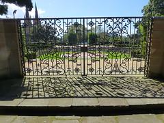 Sandringham Garden (enjbe) Tags: australia sydney hydepark gate garden shadow