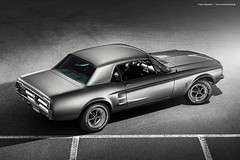 grey 1967 Ford Mustang Coupe - Shot ^3 (Dejan Marinkovic Photography) Tags: 1967 ford mustang coupe american classic car ponycar automotive strobist silver
