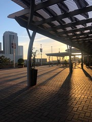 UH-Downtown Sunset (Mabry Campbell) Tags: harriscounty usa photo image architecture building downtown universityofhouston texas houston 2019 sunset iphone