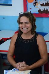 A Professora Sandra Mara de Sá  falou do orgulho de reaalizar o trabalho que levou a E. M. Adelaide de Magalhães Seabra em Itaboraí. (itaborairj) Tags: escola aula balet itaboraí indice ideb aprovada 29032019