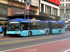 5601 (adam.moreira) Tags: mta new york city bus nova lfs articulated select service