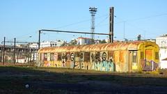 Gare de Poitiers (Esteban 86360) Tags: gare train wagon poitiers france vienne station rail abandonned rusty crusty tag gradd graffitis urbex urbain
