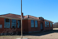 Spanish Fort 12.23.18.2 (jrbeckwith) Tags: 2018 texas jr beckwith jbeckr photo picture abandoned old history past passed yesterday memories ghosttown spanishfort oklahoma border highschool