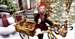 ♥♥♥ (♡♡ [[J E SSIE ]]♡♡) Tags: luas {limerence} secondlife sl slblog 2ndlife blog maitreya catwa girl kawaii fashion avatar winter gift snow cute dog cat