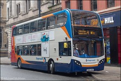 Stagecoach SN65AWU (Mike McNiven) Tags: stagecoach manchester sharston merseyside mcsl moselsystreet outofservice alexanderdennis enviro400 piccadilly piccadillygardens gardens depot parked contactless applepay