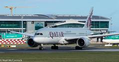 A7-BCY Qatar Airways Boeing 787-8 Dreamliner (Niall McCormick) Tags: dublin airport eidw aircraft airliner dub aviation a7bcy qatar airways boeing 7878 dreamliner b788