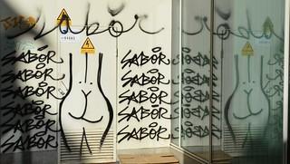Mural al carrer Béjar, Barcelona.