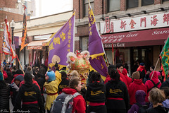 It's quite a spectacle. (kuntheaprum) Tags: chinatownboston chinesenewyearcelebration yearofthepig sony a7riii tamron 2470mm f28 festival parade dragon firework