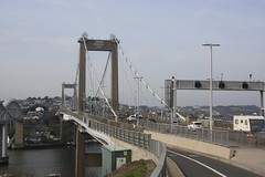 The Tamar Bridge (lazy south's travels) Tags: plymouth devon england english britain british uk bridge building architecture river tamar cornwall