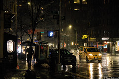 (kayters) Tags: rain raining wet umbrella winter february newyorkcity newyork eastcoast kaytedolmatchphotography kathleendolmatch explore travel adventure nightphotography canon cityscape portrait citylights colorful colors taxis streetphotography