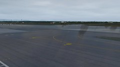 [P3D v4.4] wet ground in MXP (danielrds) Tags: p3d prepar3d boeing 748 b748 b747 vatsim fra mxp eddf limc online wet aviation aircraft heavy cpa38 cx38