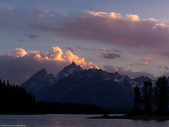 Sunset (Ramona H) Tags: coulterbay grandtetonnationalpark jacksonlake tetons wy wyoming nationalpark sunset