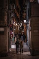 Carrer de Jaume (karinavera) Tags: city night photography urban ilcea7m2 85mm carrer street spain barcelona