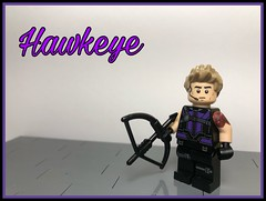 "Marvel Figs #24: ""Hawkeye"" (-InsomniCat-) Tags: lego hawkeye endgame avengers ronin marvel toys collectibles insomniverse"