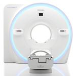 超電導磁石式全身用MR装置の写真