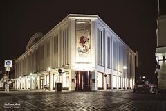 nächtliche Stadtmuseum in Münster (Light and shade by Monika) Tags: münster münsterland langzeitbelichtung stadtlandschaft nightscape