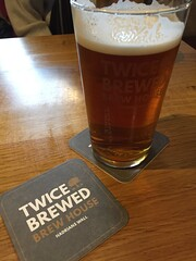 A well-earned pint at the Twice Brewed Inn, Northumberland (colin9007) Tags: twice brewed inn northumberland