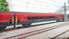 Roco 74114 Komplettset Railjet der ÖBB (Freestyler26M) Tags: railjet öbb siemens roco 64188 64191 74114 rh 1216 spirit venezia modellbahn spur h0 taurus italien österreich