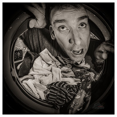 The end that awaits all business travel (_Matt_T_) Tags: explore 146 smcpk17mmf40fisheye laundry selfie dailyinmarch 365 bw cactusv6 af360fgz af540fgz