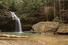 Lower Falls at Old Man's Cave (MiriamPoling) Tags: lower falls old mans cave hocking hills 2019 waterfall ohio