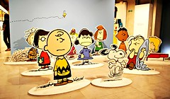 'Good grief, Charlie Brown!' (Peter Denton) Tags: charliebrown snoopy woodstock schroeder betty cartoon cutouts peanuts charles charlesmschulz peppermintpatty linus illustration art drawing