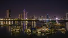 Panamá (karinavera) Tags: city longexposure night photography cityscape urban ilcea7m2 sunset panama