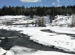 Bragg Creek Spring Break Up .. (Mr. Happy Face - Peace :)) Tags: nature river elbow bragg creek alberta canada open water art2019