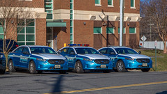 Low-profile lights (NoVa Truck & Transport Photos) Tags: ford interceptor slicktop prince william county police department pwcpd marked cruiser law enforcement first responder