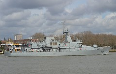LE James Joyce P62 (8) @ Greenwich 18-03-19 (AJBC_1) Tags: lejamesjoyce p62 london patrolvessel offshorepatrolvessel military warship dlrblog ©ajc ship boat vessel opv patrolboat england unitedkingdom uk navy navalvessel eastlondon nikond3200 samuelbeckettclass irishnavalservice irishdefenceforce ajbc1 riverthames greenwich royalboroughofgreenwich greatbritain gb militaryvessel
