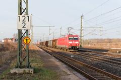 185 013 in Neudietendorf (_VT2E_) Tags: db cargo neudietendorf und güter zug eisenbahn