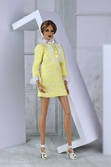 Fashion Royalty Kyori Karma (Regina&Galiana) Tags: fashionroyalty fashion fashiondoll doll barbie integritytoys fr3 nuface vanessa kyori giselle yellow