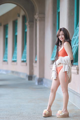 IMG_3663L (攝影玩家-明晏) Tags: 人 人像 戶外 outdoor 美女 自來水博物館 卓祈祈 portrait